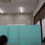 授業後の静かな教室で @服部塾水口校